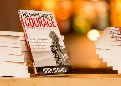 Heidi Dening / Speaker Author Educator / Her Middle Name is Courage Book 11