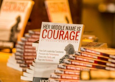 Heidi Dening / Speaker Author Educator / Her Middle Name is Courage Book 28