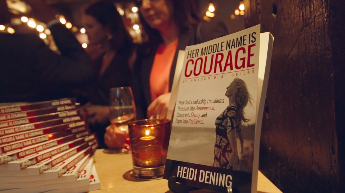 Her Middle Name is Courage Book Launch